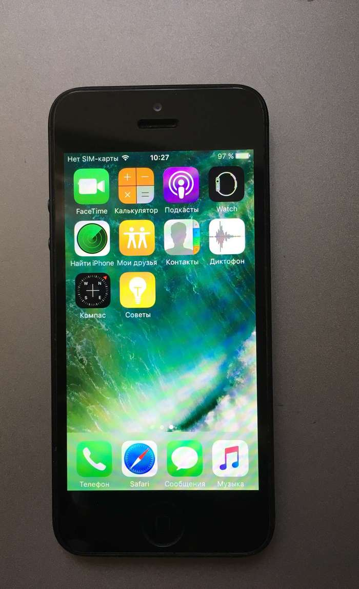 iPhone 5 64GB Black БУ iPoster.ua