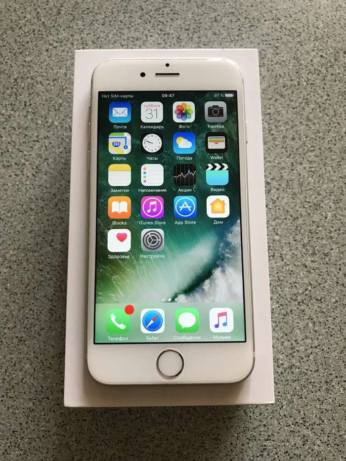iPhone 6s 128GB Silver БУ iPoster.ua
