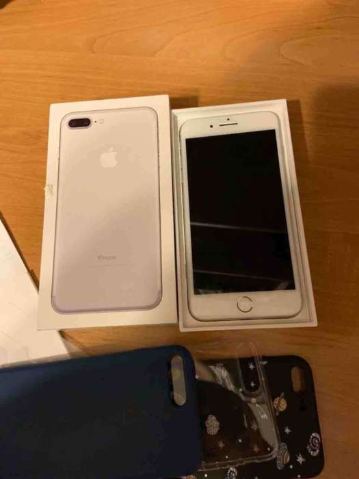 iPhone 7 Plus 256GB Silver БУ iPoster.ua