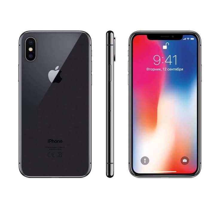 iPhone X 256GB Space Gray iPoster.ua