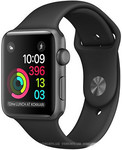 Apple Watch Series 2 42mm Space Gray Aluminium Case Sport Band iPoster.ua