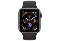 Apple Watch Series 4 44mm Space Gray Aluminium Case Sport Band iPoster.ua