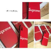 Чехол iPhone 6 6s 7 7 plus 8 8 plus X Supreme iPoster.ua