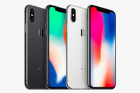 iPhone X 64 GB Silver iPoster.ua