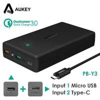 Type-C Power Bank Aukey 30000 mAh PB-Y3 c Quick Charge 3.0 (без Power Delivery) iPoster.ua