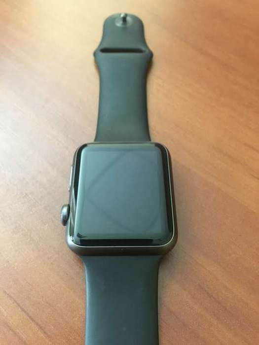 Apple Watch Series 1 42mm Space Gray Stainless Steel Case Sport Band БУ iPoster.ua