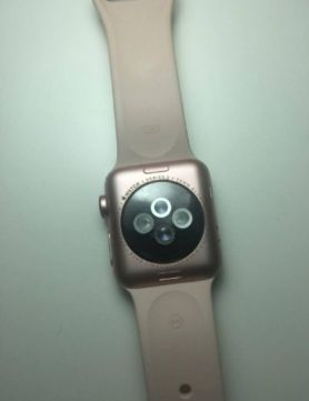 Apple Watch Series 2 38mm Rose Gold Aluminium Case Sport Band БУ iPoster.ua