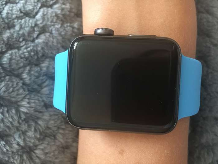 Apple Watch Series 2 42mm Space Gray Aluminium Case Sport Band БУ iPoster.ua