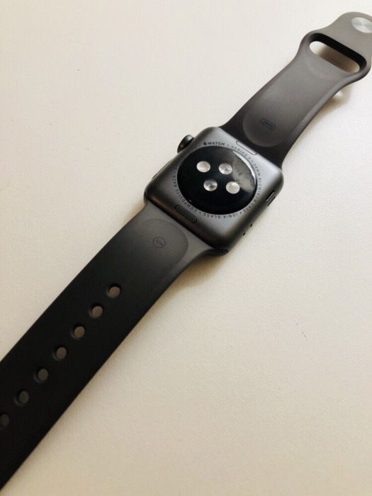 Apple Watch Series 3 38mm Space Gray Aluminium Case Sport Band БУ iPoster.ua