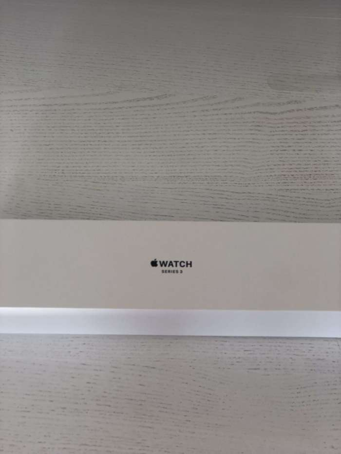Apple Watch Series 3 42mm Space Gray Aluminium Case Sport Loop Band БУ iPoster.ua