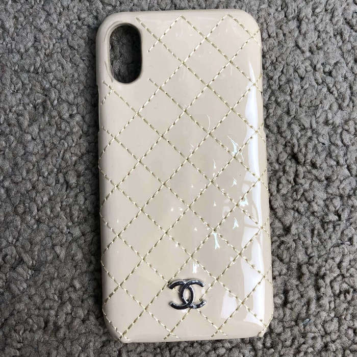 Чехол Chanel Iphone X Case Quilted Double C iPoster.ua