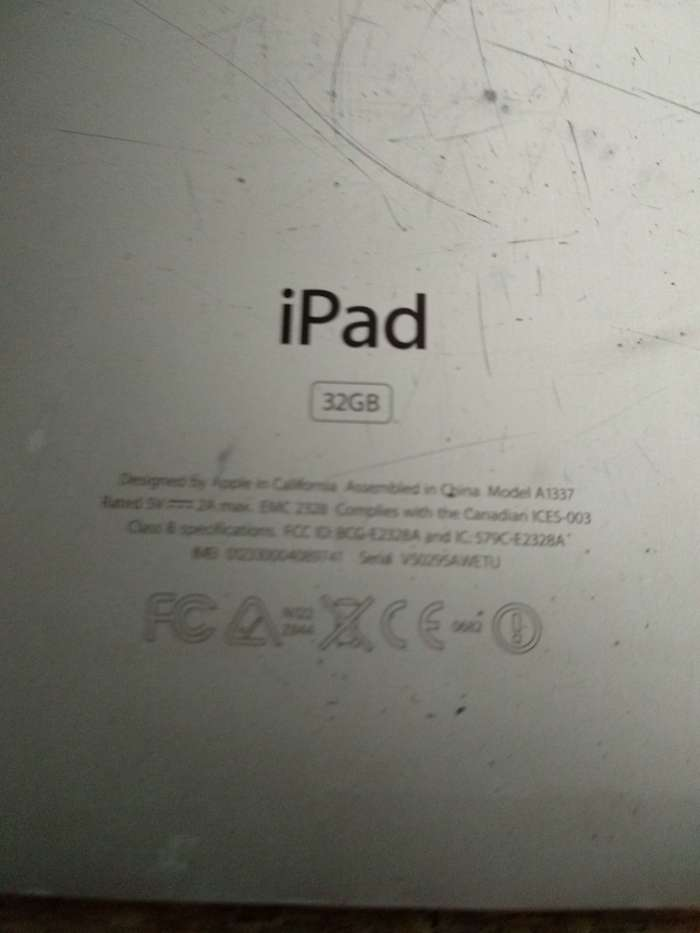 iPad 1 32 GB Wi-Fi + Cellular БУ iPoster.ua