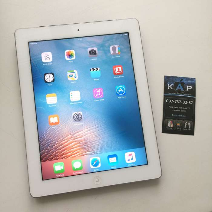 iPad 2 64 GB White Wi-Fi + Cellular БУ iPoster.ua