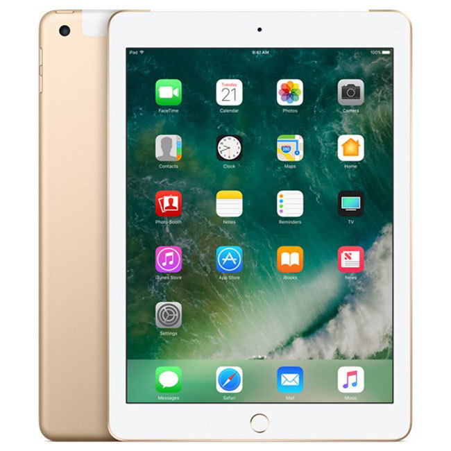 iPad (2018) 128 GB Gold Wi-Fi + Cellular iPoster.ua