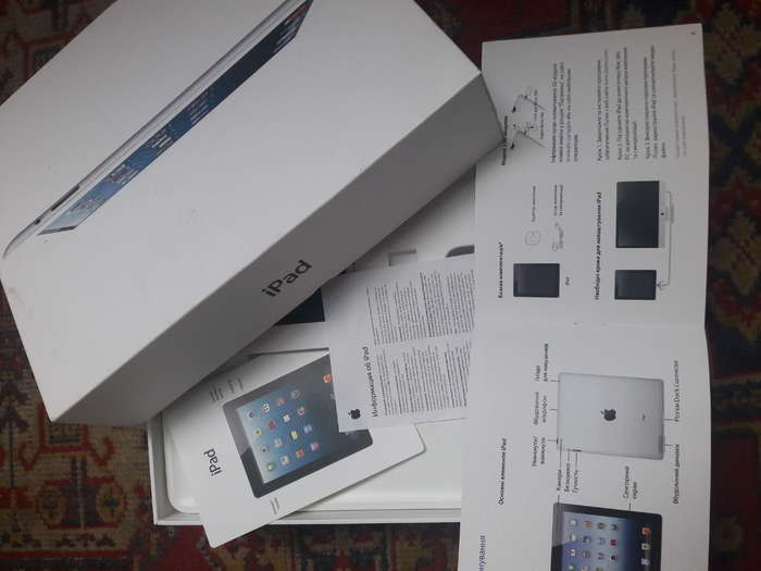 iPad 4 64GB White Wi-Fi + Cellular БУ iPoster.ua
