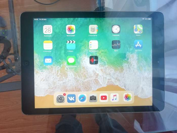 iPad Air 1 16 GB Space Gray Wi-Fi БУ iPoster.ua
