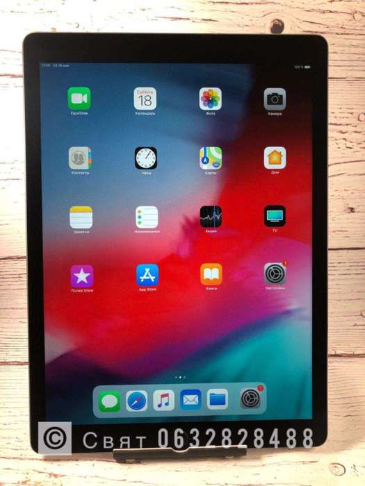 "iPad Pro 12.9"" 128GB Space Gray Wi-Fi БУ iPoster.ua"