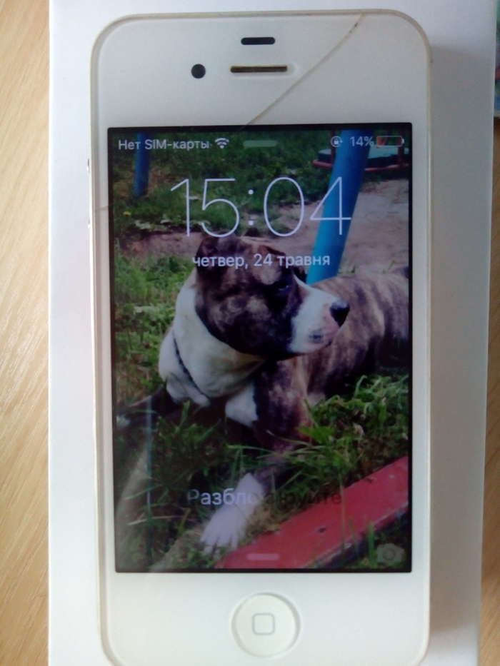 iPhone 4 16 GB White Ref iPoster.ua