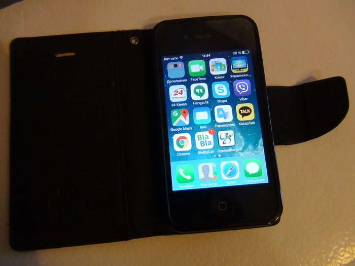 iPhone 4 32 GB Black БУ iPoster.ua
