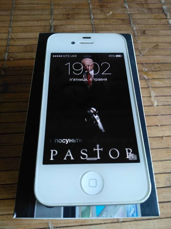 iPhone 4s 64 GB White БУ iPoster.ua