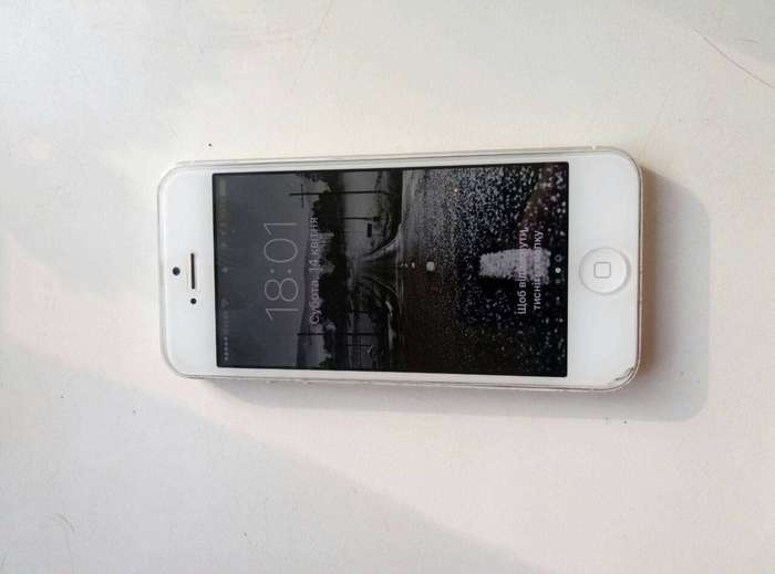 iPhone 5 16 GB White БУ iPoster.ua