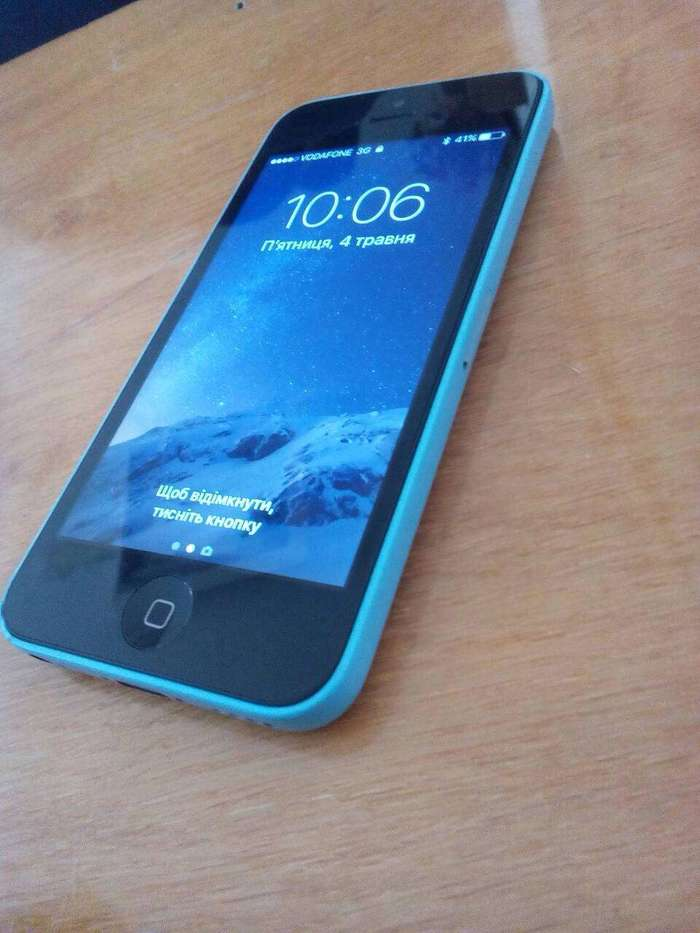 iPhone 5c 16 GB Blue БУ iPoster.ua