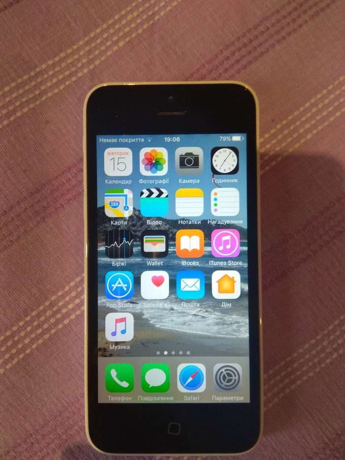 iPhone 5c 16 GB White БУ iPoster.ua