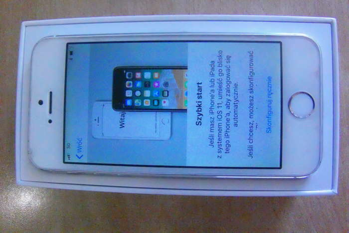 iPhone 5s 64 GB Silver БУ iPoster.ua