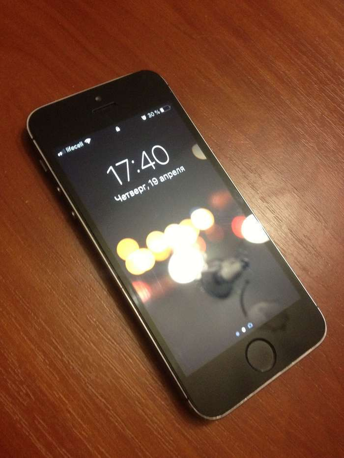 iPhone 5s 64 GB Space Gray БУ iPoster.ua