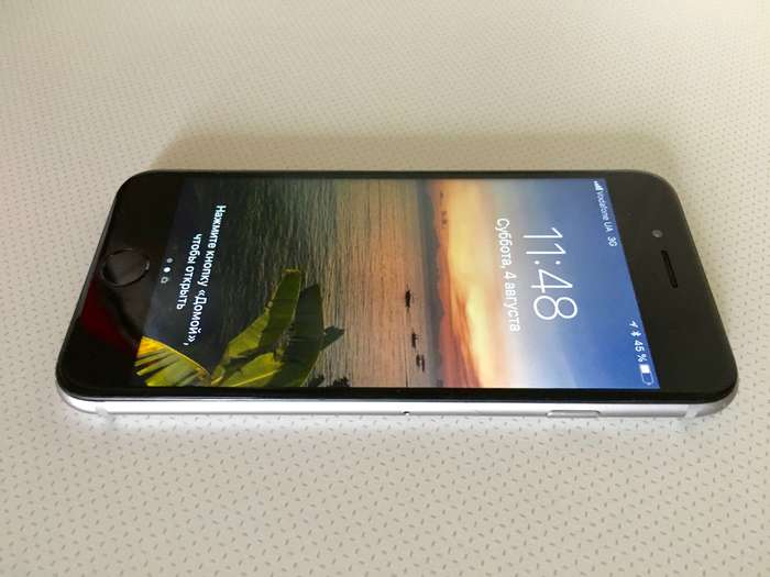 iPhone 6 128 GB Space Gray БУ iPoster.ua