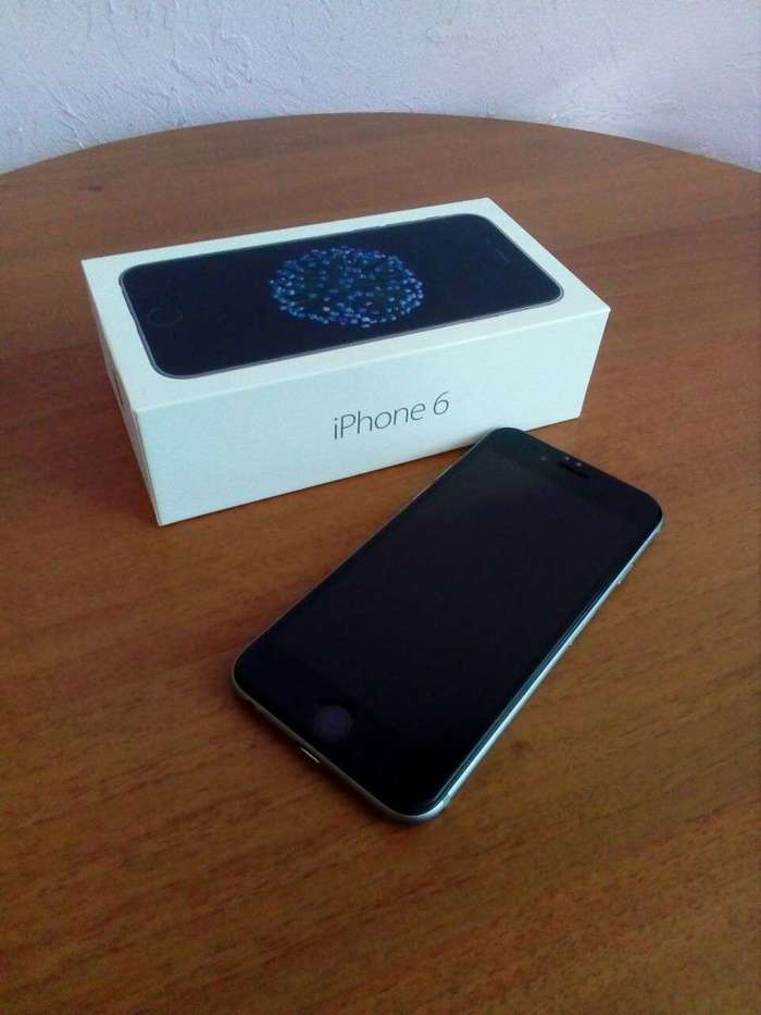 iPhone 6 32 GB Silver БУ iPoster.ua
