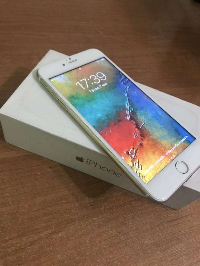 iPhone 6 Plus 64 GB Gold БУ iPoster.ua