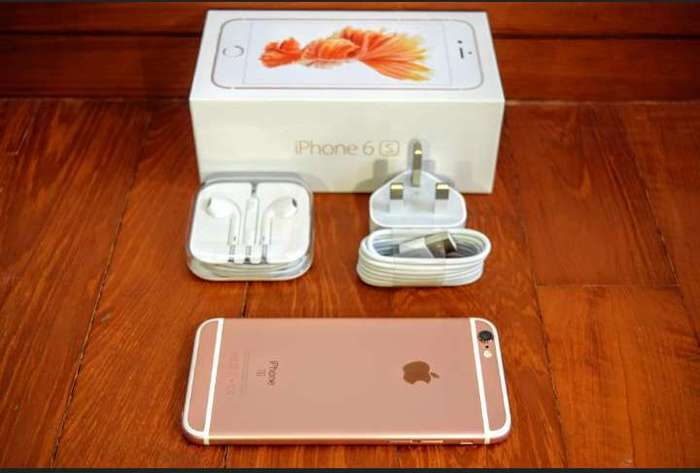 iPhone 6s 128 GB Rose Gold iPoster.ua