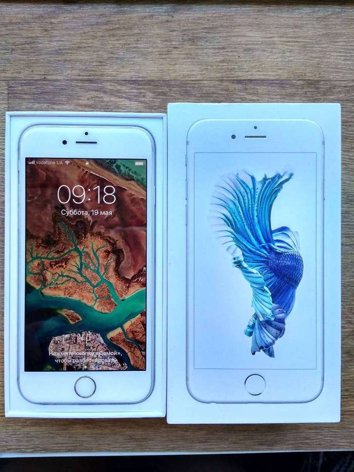 iPhone 6s 32 GB Silver БУ iPoster.ua