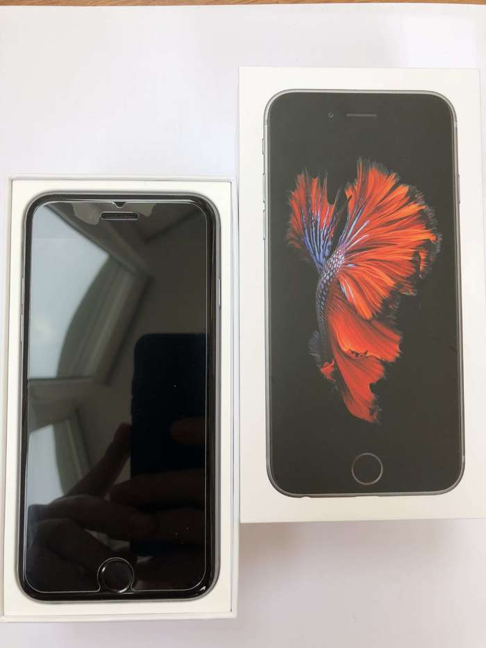 iPhone 6s 32 GB Space Gray БУ iPoster.ua