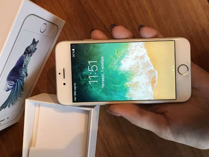 iPhone 6s 32GB Silver БУ iPoster.ua