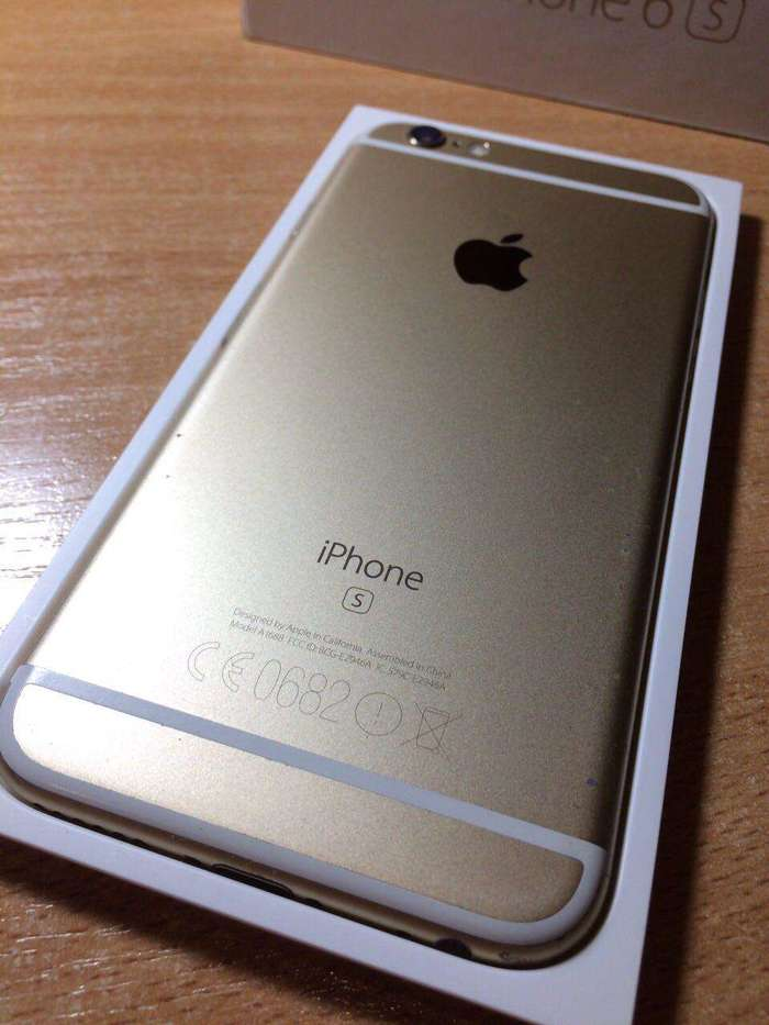 iPhone 6s 64 GB Gold БУ iPoster.ua