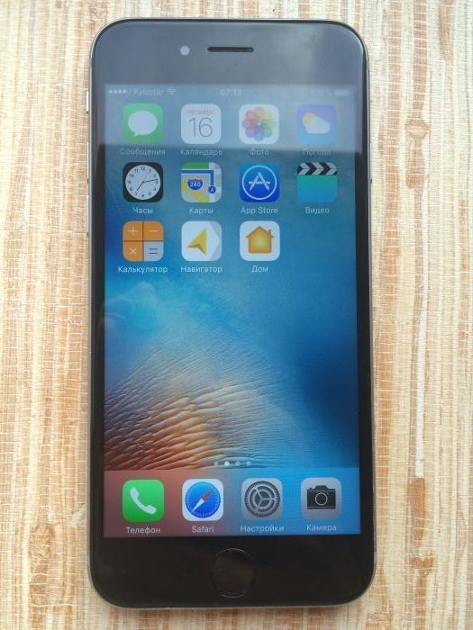 iPhone 6s 64 GB Space Gray БУ iPoster.ua