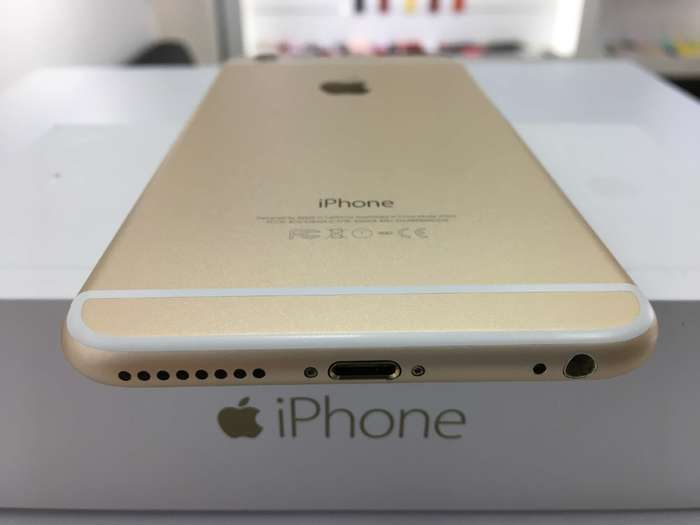 iPhone 6s Plus 128 GB Gold БУ iPoster.ua