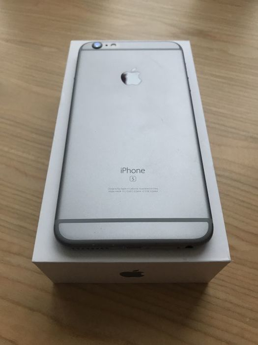 iPhone 6s Plus 128 GB Space Gray БУ iPoster.ua
