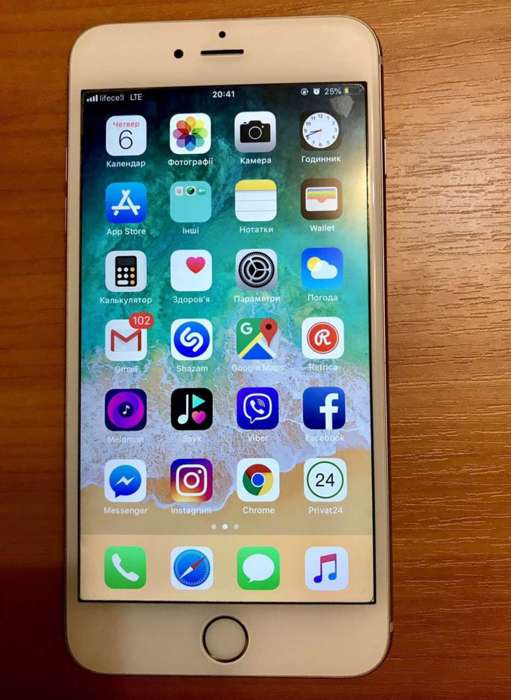 iPhone 6s Plus 16GB Silver БУ iPoster.ua