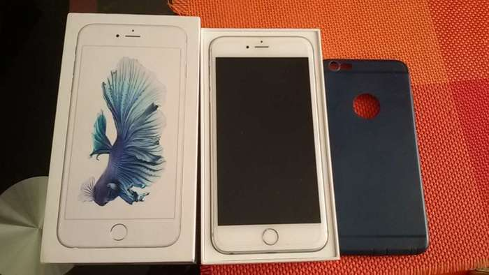 iPhone 6s Plus 64 GB Silver БУ iPoster.ua