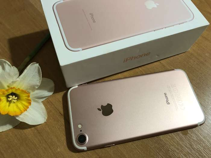 iPhone 7 128 GB Rose Gold БУ iPoster.ua