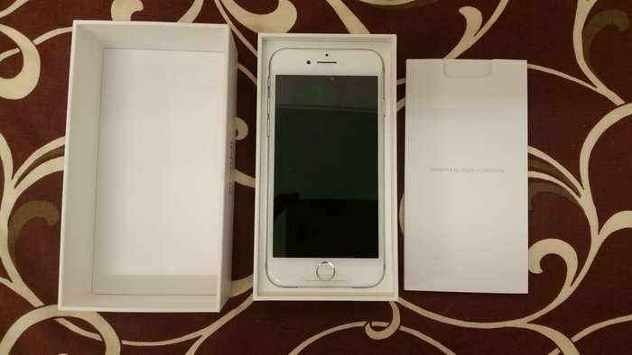 iPhone 7 128 GB Silver iPoster.ua