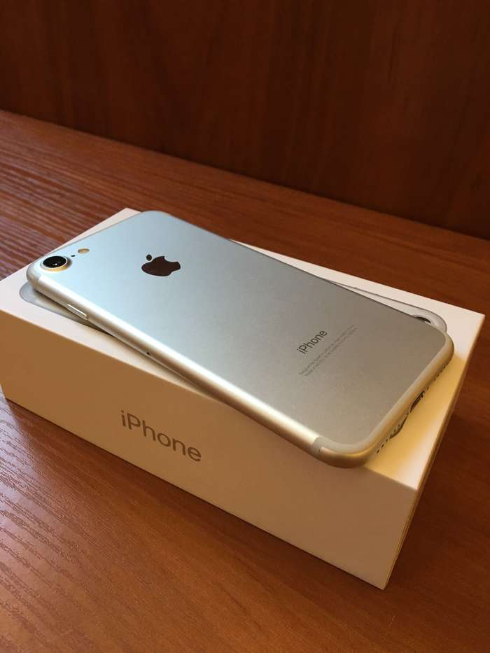 iPhone 7 128GB Silver БУ iPoster.ua