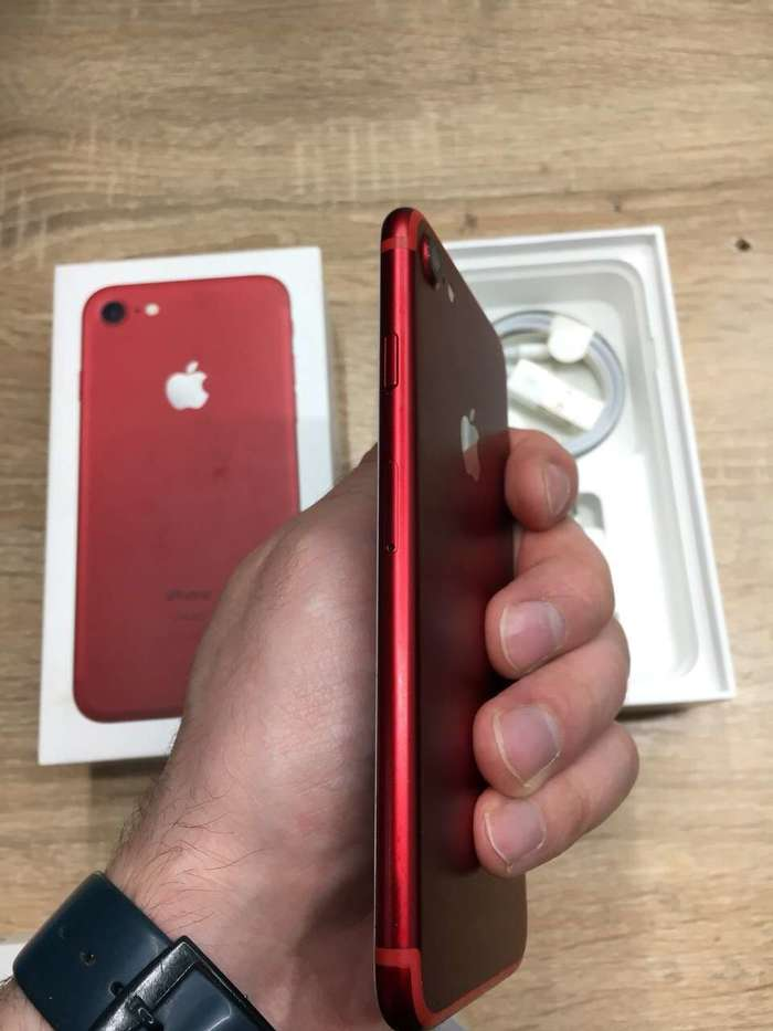 iPhone 7 256 GB (PRODUCT)RED БУ iPoster.ua