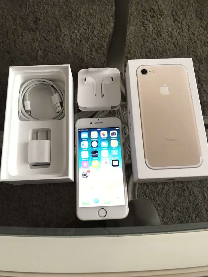 iPhone 7 32 GB Gold БУ iPoster.ua
