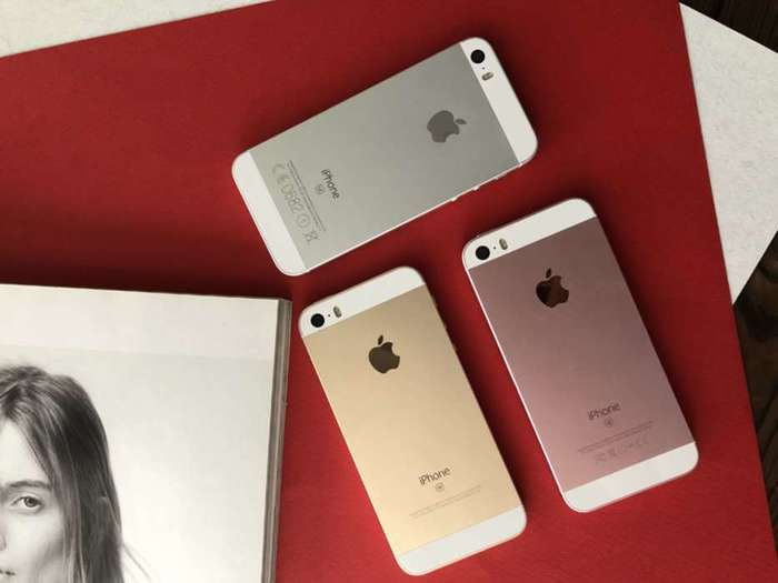 iPhone SE 16GB Gold БУ iPoster.ua