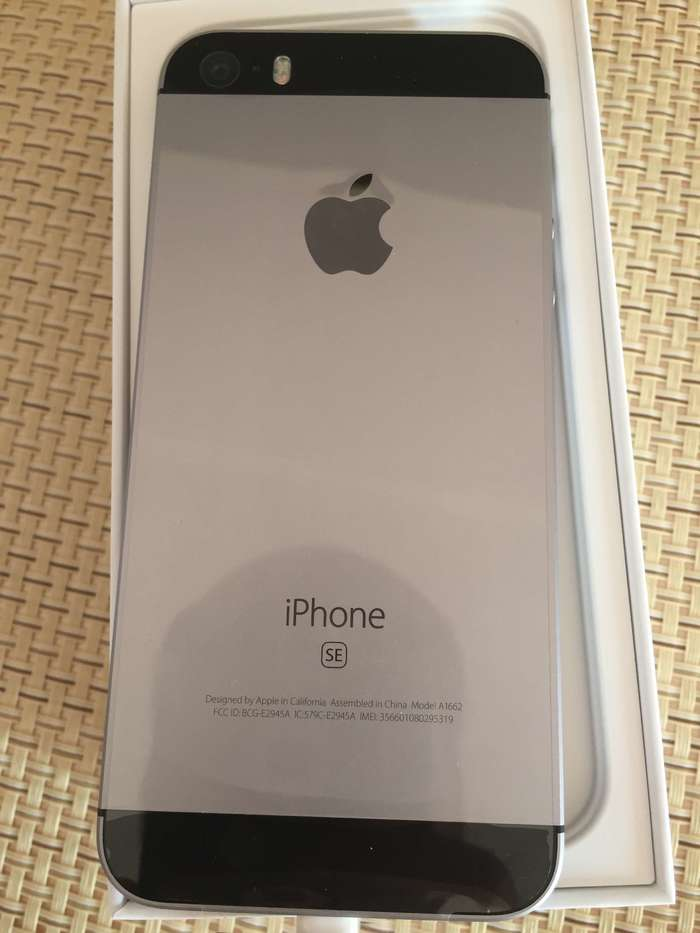 iPhone SE 32 GB Space Gray iPoster.ua