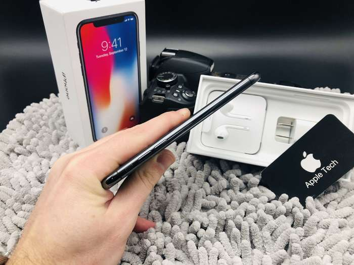iPhone X 256GB Space Gray БУ iPoster.ua
